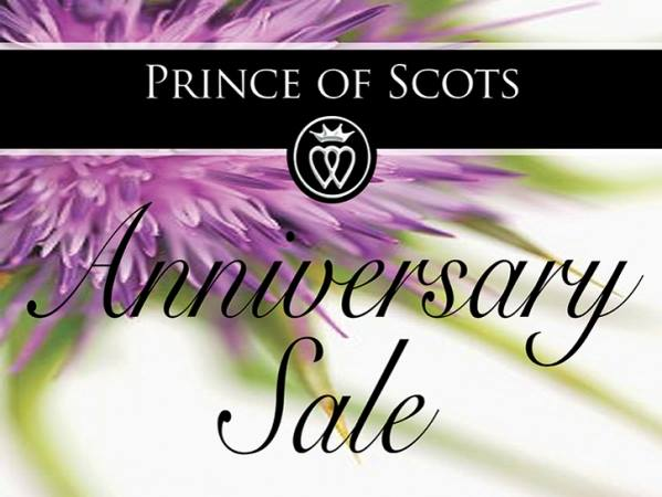 Prince of Scots Anniversary Sale
