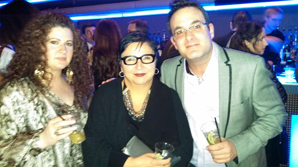 JONES APPAREL GROUP'S LIANA LAURA AND IRENE KOUMENDOUROS, AND DAVID CAMPANA OF PRINCE OF SCOTS